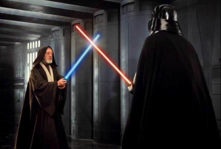 """Scene 37: """"Obi-Wan vs. Vader"""""""
