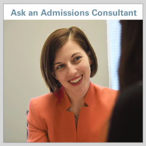 Ask an Admssions Consultant